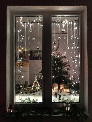 Adventsfenster in Wörrstadt der Tagespflege Kuttler